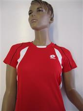 LOTTO T-SHIRT SEED PL B RED
